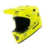 BMX Decade Helmet Graphic Lunis Neon Yellow 2021
