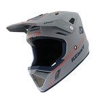 BMX Decade Helmet Graphic Lunis Grey