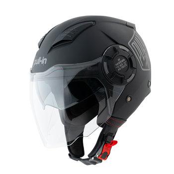 Open Face Helmet Solid Matt Black 2022