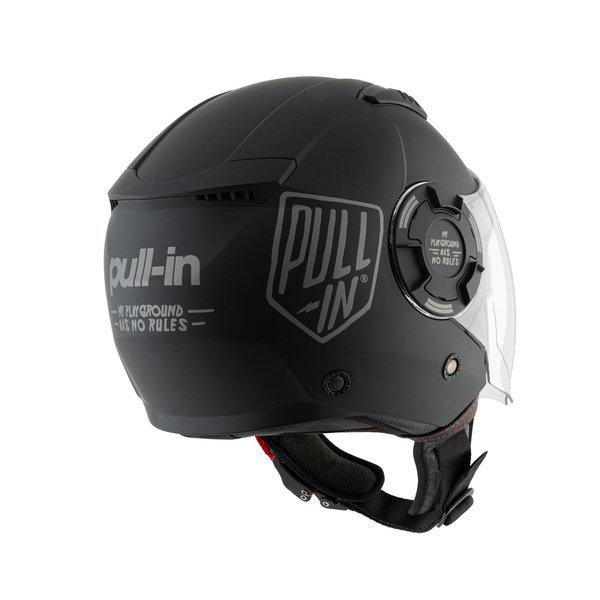 Open Face Helmet Solid Matt Black 2021
