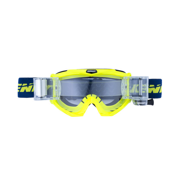 Adult Track Max Goggles Blue Neon Yellow