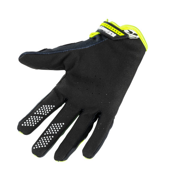 Kids Brave Gloves Neon Yellow 2021