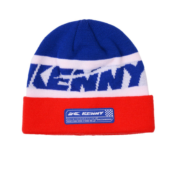 Heritage Beanie Blue White Red