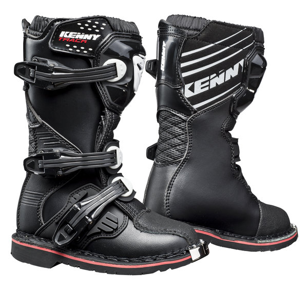 Kids Track Boots Black 2021