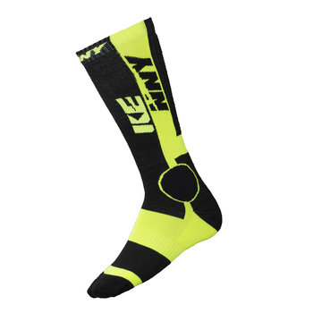 MX Tech Socks Black Neon Yellow
