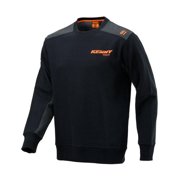Racing Cvc Hoody Black Neon Orange 2021