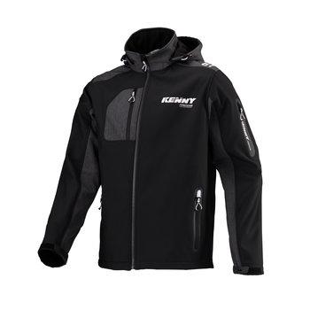 Racing Softshell Jacket Black White 2021