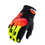 Safety Gloves Black Red Orange 2021