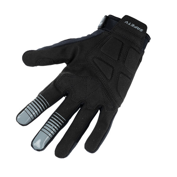 Safety Gloves Black Grey 2021