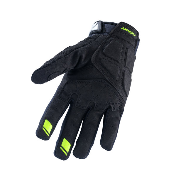 Sf Tech Gloves Black Neon Yellow 2022