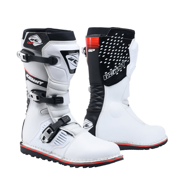 Trial Up Boots White
