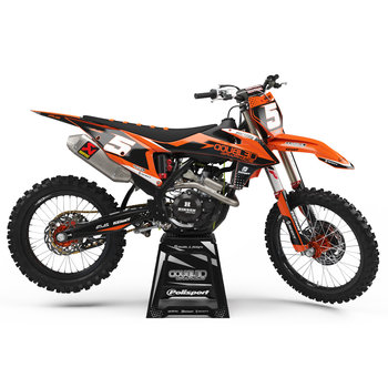 Stickerset Factory KTM SX\SXF 125-450cc '19 -