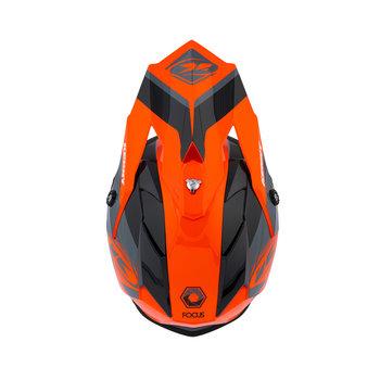 Track Peak Helmet Kid Orange 2021