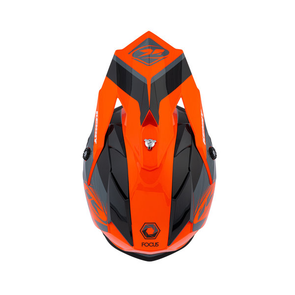 Track Peak Helmet Kid Orange 2021
