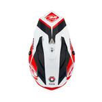 Track Peak Helmet Kid Black Red 2021