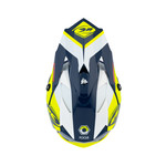 Track Peak Helmet Kid Navy Neon Yellow 2021