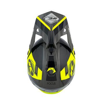 Track 2021 Peak Black Neon Yellow