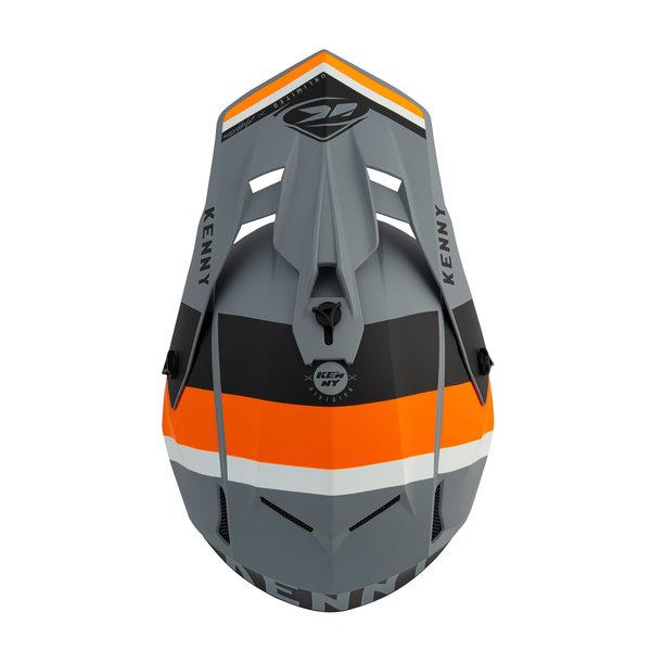 Performance 2021 Peak Matt Grey Orange