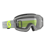 Goggle Split OTG Grey/Yellow Clear Works (Speciaal Voor Brildragers)