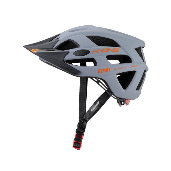 K-One Helmet Grey Orange 2021