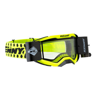 Performance Goggles Level 4 (Double Lens) Neon Yellow