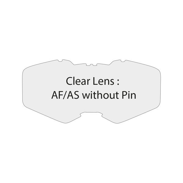 Clear Lens Af/As Without Pin Ventury