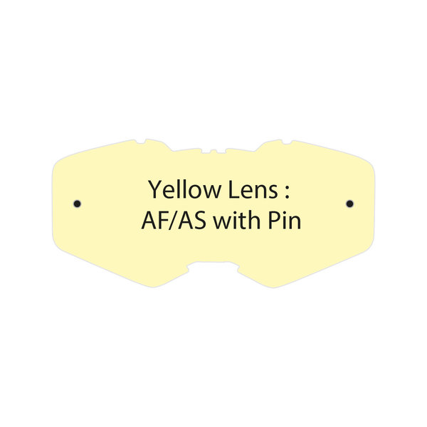 Yellow Lens Af/As With Pin