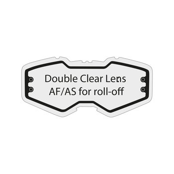 Double Clear Lens Af/As For Roll Off Ventury