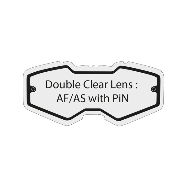 Double Clear Lens Af/As Ventury
