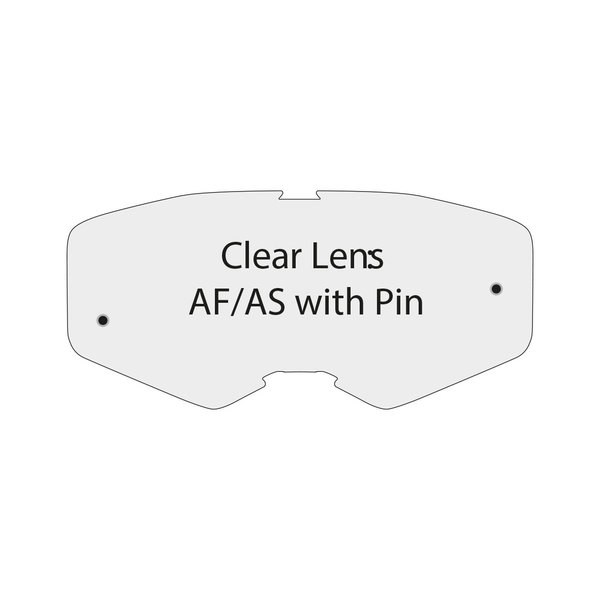 Clear Lens Af/As With Pin For Performance