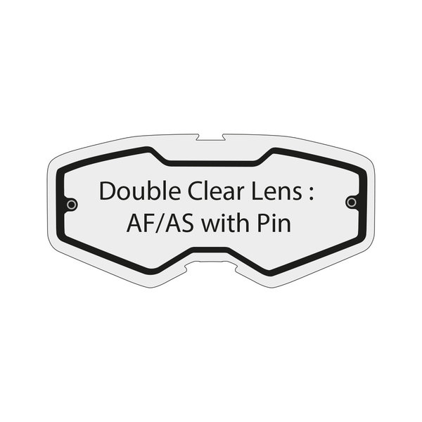 Double Clear Lens Af/As With Pin Performance