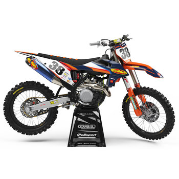 Stickerset  Deegan Replica KTM SX|SXF 125cc -450cc  '19- '21