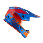 Track Helmet Adult Graphic Blue Red 2022