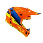 Performance Helmet Graphic Neon Orange 2022