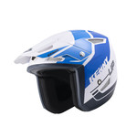 Trial Up Graphic Helmet Blue 2022