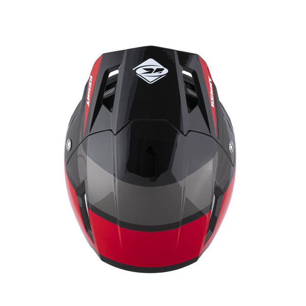 Trial Up Graphic Helmet Black Red 2022
