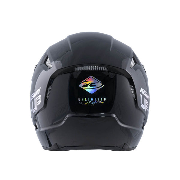 Trial Up Graphic Helmet Black Holographic 2022