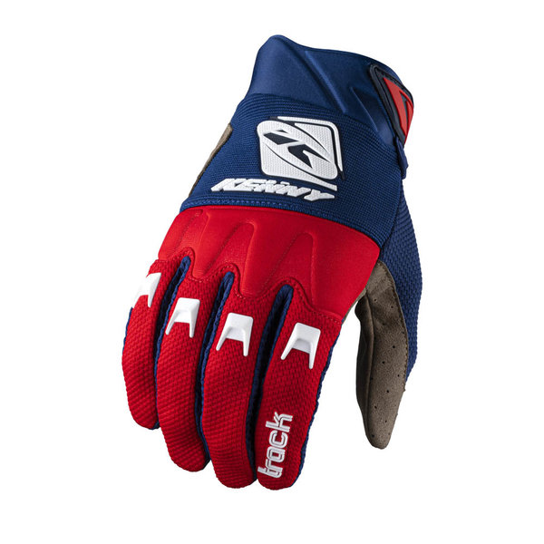 Track Gloves For Adult Navy Red 2022