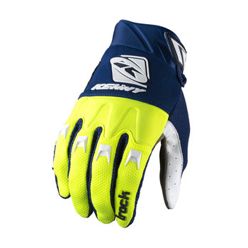 Track Gloves For Adult Navy Neon Yellow 2022
