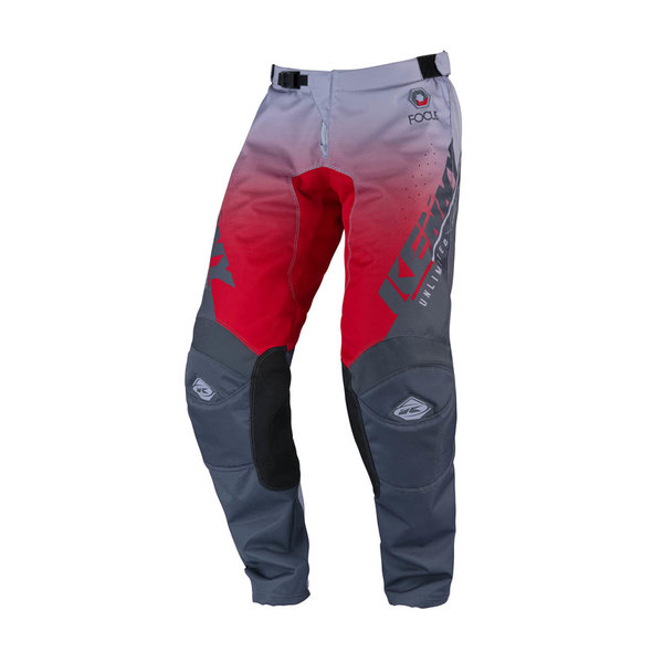 Track Focus Pants For Adult Grey Red 2022