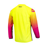 Track Focus Jersey For Adult Neon Yellow 2022