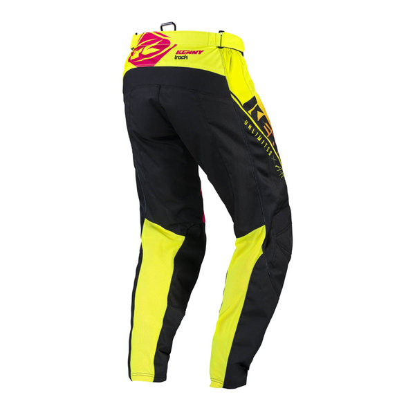 Track Focus Pants For Kid Neon Yellow 2022