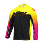 Track Focus Jersey For Kid Neon Yellow 2022