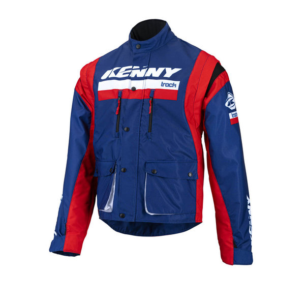 Track Jacket Navy Red 2022