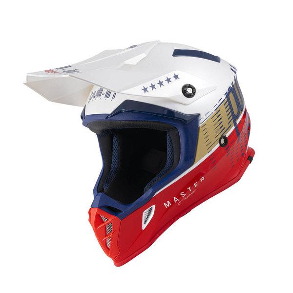 Pull-In Helmet For Adult Master Navy White 2022