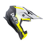 Pull-In Helmet For Adult Race Neon Yellow 2022