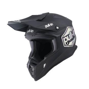 Pull-In Helmet For Adult Solid Matt Black 2022