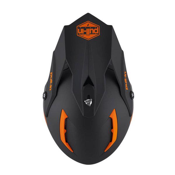 Pull-In Helmet For Adult Solid Matt Orange 2022