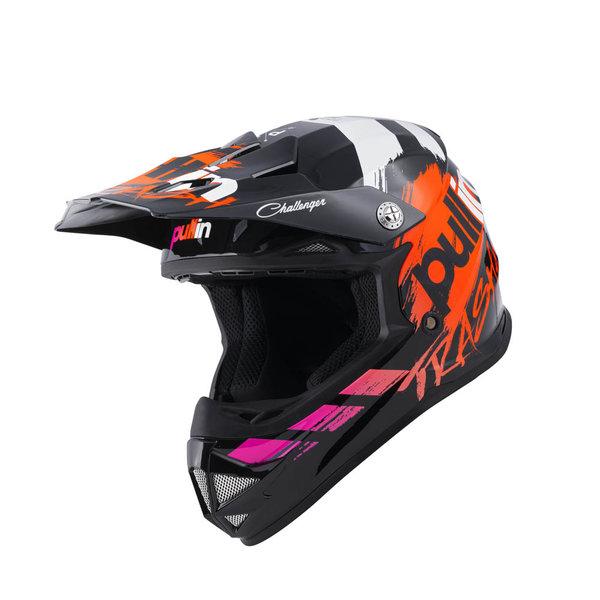 Pull-In Helmet For Kid Trash Black 2022