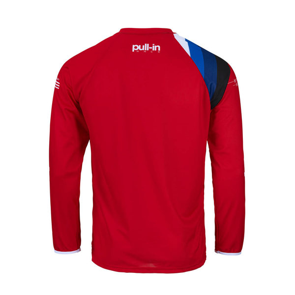 Pull-In Challenger Master / Race Jersey For Kid Race Red 2022